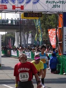 2014泉州国際市民マラソンゴール写真