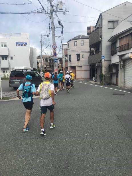 住吉大社に向かう街道